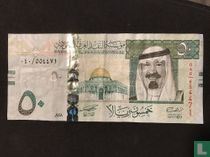 Saoedi-Arabië 50 Riyalen