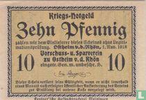 Ostheim vd Rhön 10 pfennig 1918