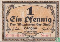 Glogau Stadt 1 Pfennig 1918