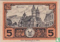 Freyburg Unstrut 5 pfennig 1920