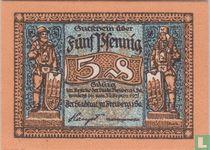 Freiberg Stadt 5 Pfennig 1921
