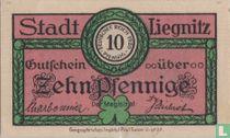 Liegnitz Stadt 10 pfennig 1920