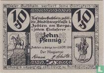 Zobten am Berge 10 pfennig 1919