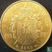 Frankrijk 100 francs 1869 (BB)