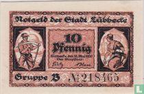 Lübbecke in Westphalia 10 pfennig 1920