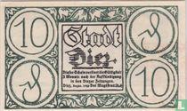 Diez, 10 Pfennig 1920