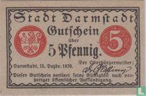 Darmstadt 5 pfennig 1920