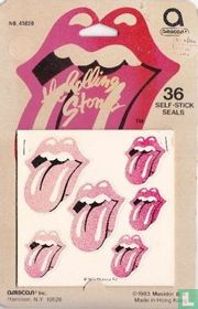 Rolling Stones: stickers logo