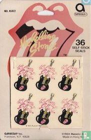 Rolling Stones: stickers gitaar