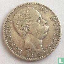 Italië 2 lire 1884