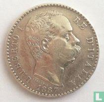 Italië 2 lire 1887