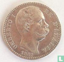 Italië 2 lire 1881
