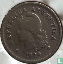 Argentinië 10 centavos 1924