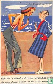 05. Ook aan het strand is de juiste verhouding zoek