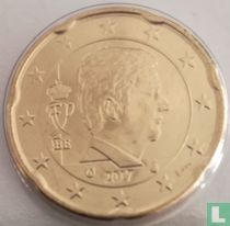 Belgium 20 cent 2017
