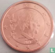 Belgium 2 cent 2017