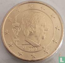 Belgium 50 cent 2017