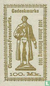 Johann Gutenberg Standbeeld
