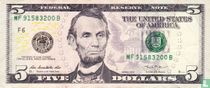 Verenigde Staten 5 dollars 2013 F