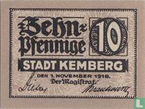 Kemberg Stadt 10 pfennig 1918
