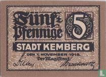 Kemberg Stadt 5 pfennig 1918