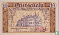 Hermsdorf, Gemeinde 10 Pfennig 1919