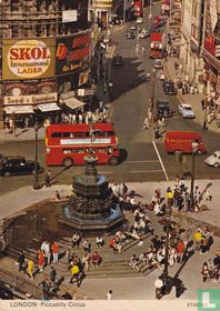 Engeland: Londen: Piccadilly Circus