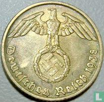 Duitse Rijk 5 reichspfennig 1938 (A)