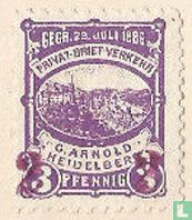 Kasteel van Heidelberg (met opdruk)