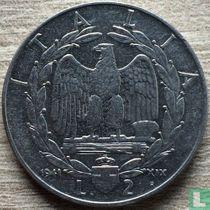 Italien 2 Lire 1941 (magnetisch)