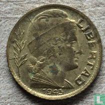 Argentina 5 centavos 1943