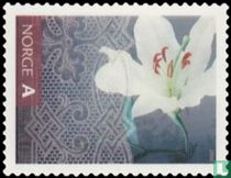 Groetzegels - bloem