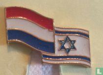 Vlaggen Nederland-Israel