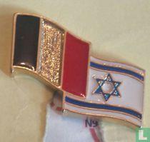 Vlaggen België-Israel