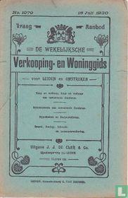 Vraag-Aanbod De wekelijksche verkooping-en woninggids voor Leiden en omstreken 1079