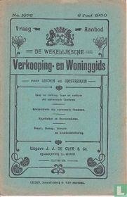 Vraag-Aanbod De wekelijksche verkooping-en woninggids voor Leiden en omstreken 1076