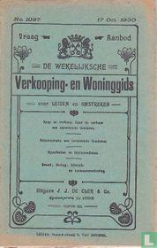 Vraag-Aanbod De wekelijksche verkooping-en woninggids voor Leiden en omstreken 1087