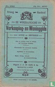 Vraag-Aanbod De wekelijksche verkooping-en woninggids voor Leiden en omstreken 1088