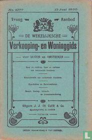 Vraag-Aanbod De wekelijksche verkooping-en woninggids voor Leiden en omstreken 1077
