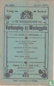Vraag-Aanbod De wekelijksche verkooping-en woninggids voor Leiden en omstreken 1086