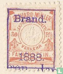 Opdruk Brand 1888