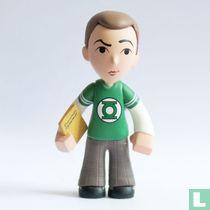 Sheldon Cooper [Green Lantern T-Shirt]