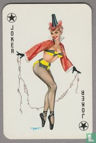 Joker, Germany, Pin-up, Speelkaarten, Playing Cards