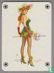 Joker, Austria, Baby Dolls No. 1002, Pin-up, Speelkaarten, Playing Cards