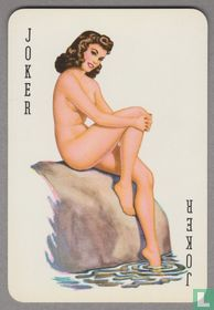 Joker, Denmark, Pin-up, Speelkaarten, Playing Cards