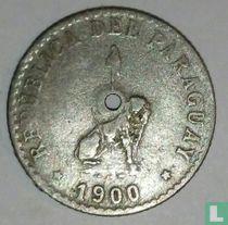 Paraguay 20 centavos 1900