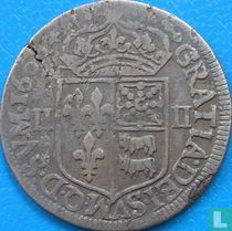 France ¼ ecu 1606 (BD)
