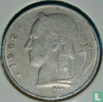 België 5 francs 1962 (NLD - misslag)