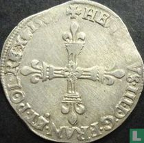 France ¼ ecu 1587 (A)