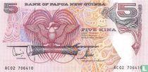 Papoea Nieuw Guinea 5 Kina 2002